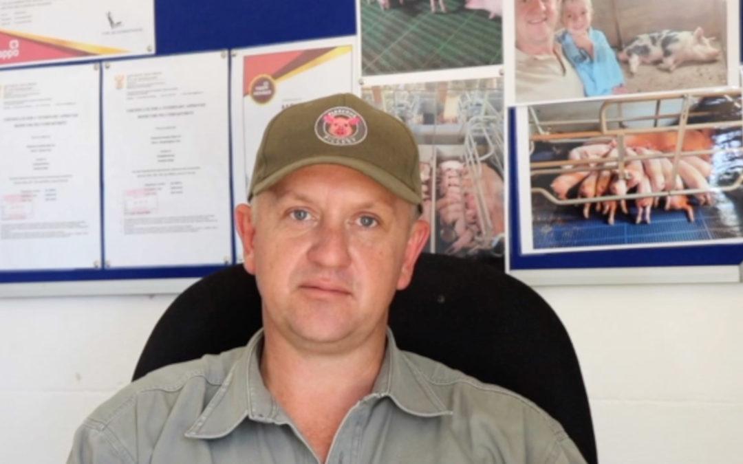 Berno Hambrock's (KZN) testimonial on Tonisity's benefits for his piglets